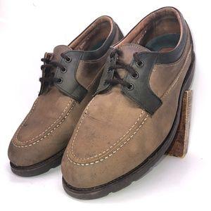 Allen Edmonds Brown Leather Vibram Shoes 11.5